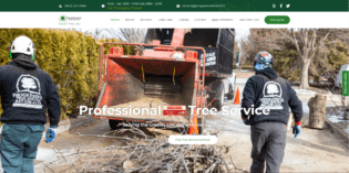 Progressive Tree Service website redesign