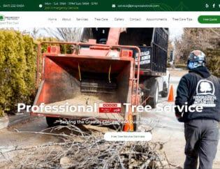 tree service web design