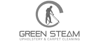 green steam upholstery and carpet cleaning